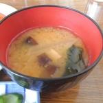 さぼーる - 味噌汁