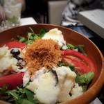 俺のフレンチ - たっぷり野菜の俺ん家のサラダ ニース風