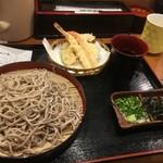 丸の内天ぷらめし 下の一色 - 蕎麦は最悪です