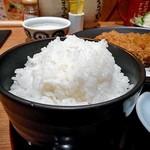 寿庵 - ご飯(大盛り)