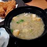 寿庵 - 味噌汁