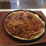ストーン - 鉄板インディアンスパゲッティ(カレーです)