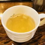 グルメ風月 - セットスープ