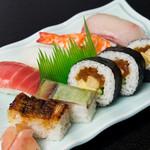 まるやま - お寿司盛合せ1350円