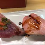 奴寿司総本店 - カツオ・中トロ