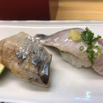 奴寿司総本店 - 秋刀魚・アジ