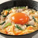 宮崎県日南市 塚田農場 - 塚だまと地鶏の親子丼