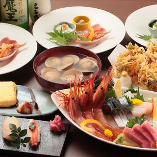 【ご宴会】鮮魚を余すことなく一皿に!コースは3,240円~