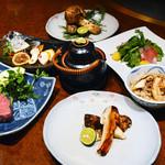 知喜多 - 料理写真:松茸コース