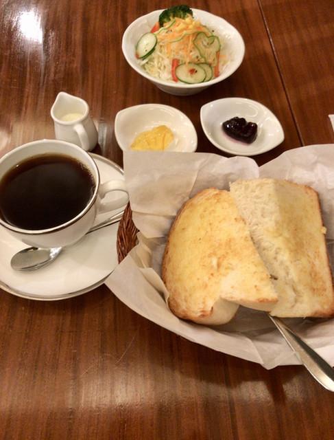 茶豆珈琲 - 茶豆ブレンド、モーニングBセット