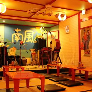 沖縄民謡が、ここ福井で楽しめる!沖縄料理と共に味わって…♪