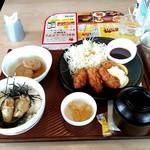 93515004 - カキフライと牡蠣の漬けご飯和膳