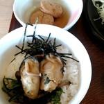 93515006 - カキフライと牡蠣の漬けご飯和膳