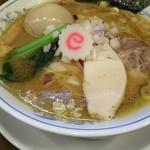 ら~めん曳舟 - 濃厚鶏醤油ラーメンと味たまで900円税込