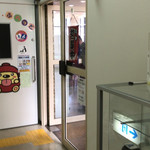 東大和市役所 食堂 - 食堂入り口。