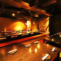 団体様の満足度◎大型宴会個室を豊富にご用意しております!