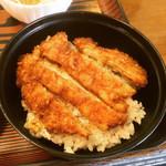 囲炉裏焼と蕎麦の店 うえ田 - ミニ鶏カツ丼