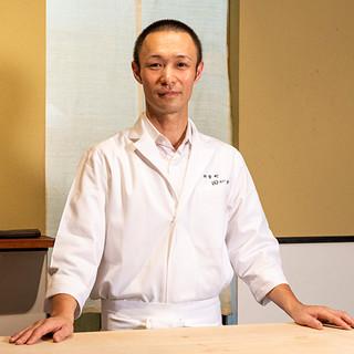 田川喜章氏(タガワヨシアキ)─四季を映した料理ともてなしの心