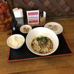 Chiiran - 汁なしタンタン麺(ご飯セット)