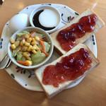 きつつき - 料理写真:モーニングサービス