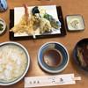 Nijou - 料理写真:上天ぷら定食(1000円)