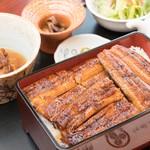鰻作 - 料理写真:大蒲焼重膳