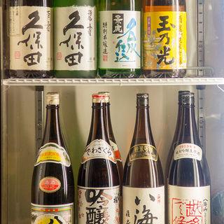 久保田・八海山、獺祭等プレミアム飲み放題コース