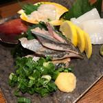 季節の鍋 縁 - おまかせ刺身盛り