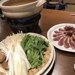 季節の鍋 縁 - 鴨鍋