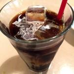 Cento per Cento - パスタセットのアイスコーヒー