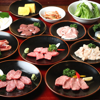 仙台牛を余すことなく、たっぷり凝縮して味わえる宴会コース