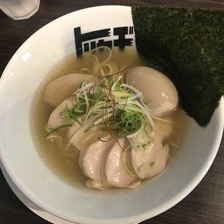 らぁめん トリカヂ イッパイ - 料理写真:特製塩1000円
