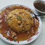 中華四川料理 伯水楼 - 料理写真:肉入りチャーハン(肉絲炒飯)@700