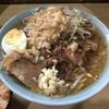 ラーメン富士丸 - 料理写真:「富士丸ラーメン」850円(麺半分・チョイ野菜・チョイニンニク)