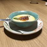 もつ唐と水炊きもつ鍋 由乃 - 名古屋コーチンプリン