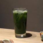 もつ唐と水炊きもつ鍋 由乃 - 西尾の抹茶酎ハイ