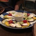 SAROS.the Quisson - 旨野菜のカルパッチョ