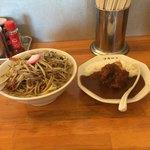 極濃湯麺 フタツメ - 料理写真:濃厚カレータンメン&カレーセット