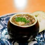 日本料理 たかむら - かもなす