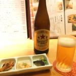 米祥 - お通しとビール☆