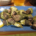 地魚料理 若大将 - 料理写真:カメノテの蒸し焼き 750円 (2018.8)