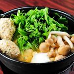 俵家商店 マルコメ - 鶏団子と水菜のハリハリ鍋