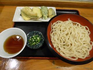 たぐち家 - 野菜天ぷらうどん(750円)_2018-09-26