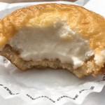 KINOTOYA BAKE - 焼きたてチーズタルト断面