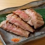 日本酒の魚枡 - 牛たん