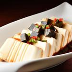 一路香 - ピータン豆腐の冷菜