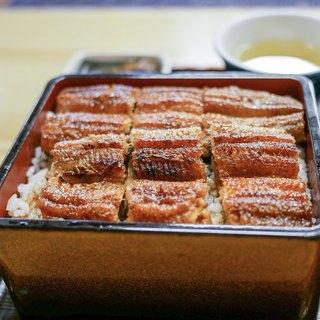 かいだ屋 - 料理写真:中にも鰻が入っています。