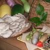 Irorijinen - 料理写真:10月上旬きのこやアケビ