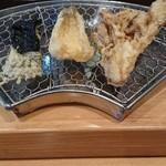 千成 - 第一弾は海苔、キス、舞茸。