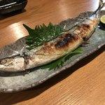 かつ田 - 秋刀魚も美味しい季節になりました♫
